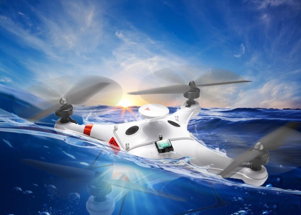 IDEAFLY Poseidon Pro RC Fishing Drone - Drone Fishing Banner