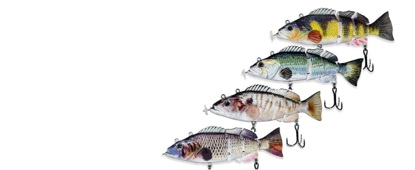 Robotic Swimming Lure - Ver2 4 fish banner 54g