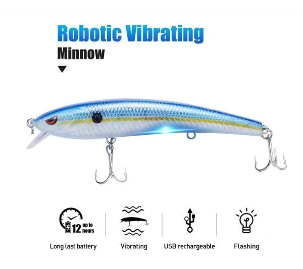 Robotic Vibrating Lure - Fishing Lure - Featured Image