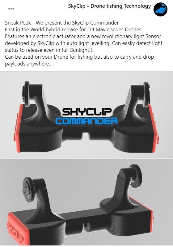 SkyClip Commander Sneak Peek - Facebook Announcement