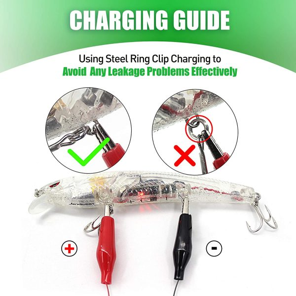 robotic vibrating lure - Charging Instructions