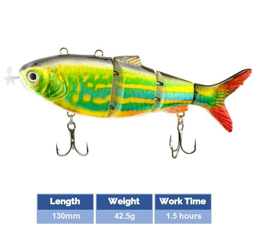 Robotic-Swimming-Lure-Color-A-130mm-42.5g-1.5hour