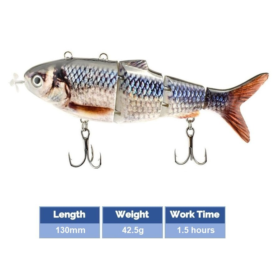 Robotic-Swimming-Lure-Color-C-130mm-42.5g-1.5hour