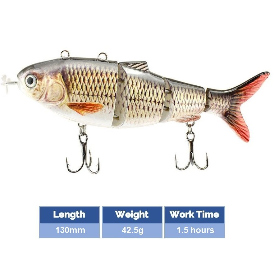 Robotic-Swimming-Lure-Color-D-130mm-42.5g-1.5hour