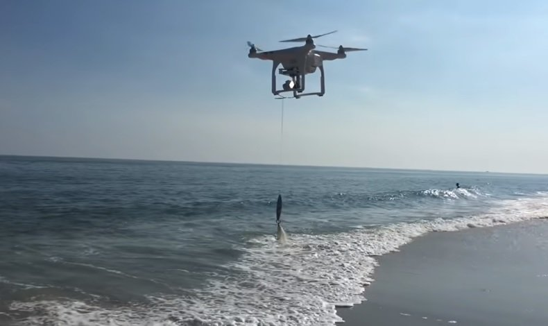 what is a fishing drone - limited payload