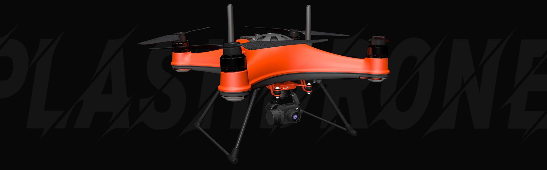 SplashDrone 4 - A new benchmark for waterproof drones