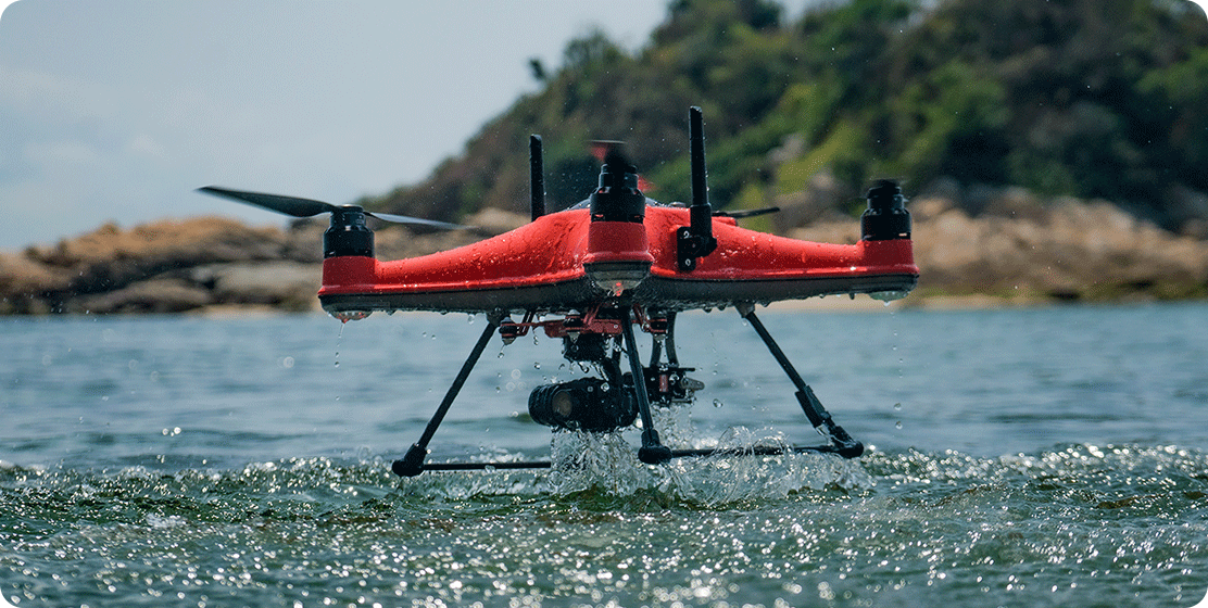 All-new IP67 seawater-proof body