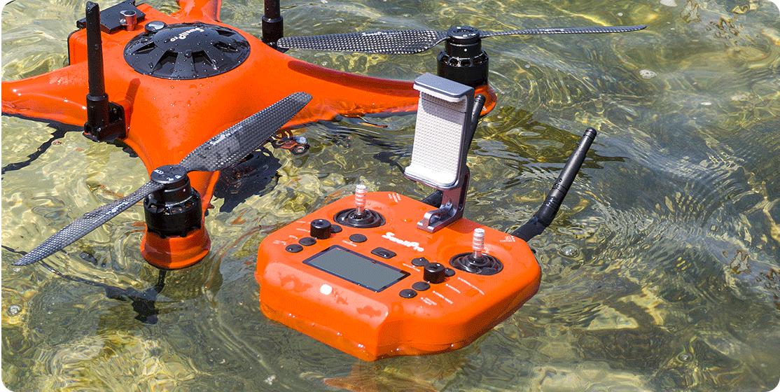 SplashDrone 4 - waterproof remote controller