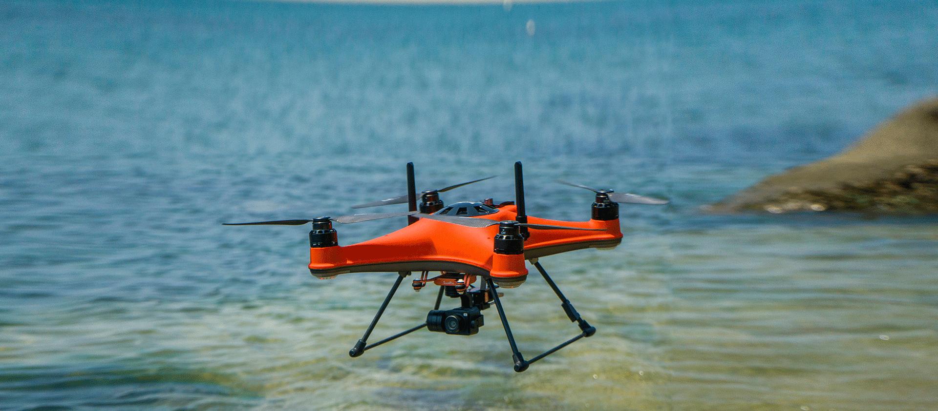 SwellPro SplashDrone 4 - multi-functional waterproof flight platform