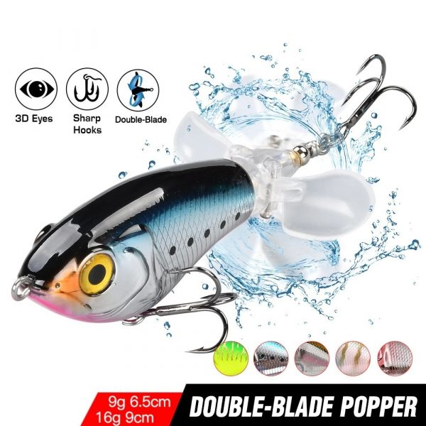 Whopper Popper Double Propeller - Featured Image