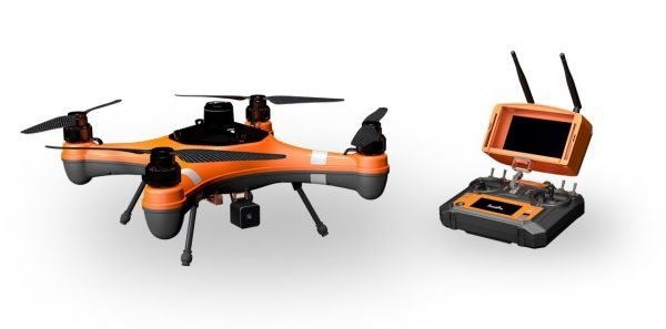 SwellPro Fisherman Fishing Drone with the Remote Controller