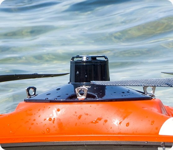 SwellPro Fisherman New interference-resistant GPS & altimeter design